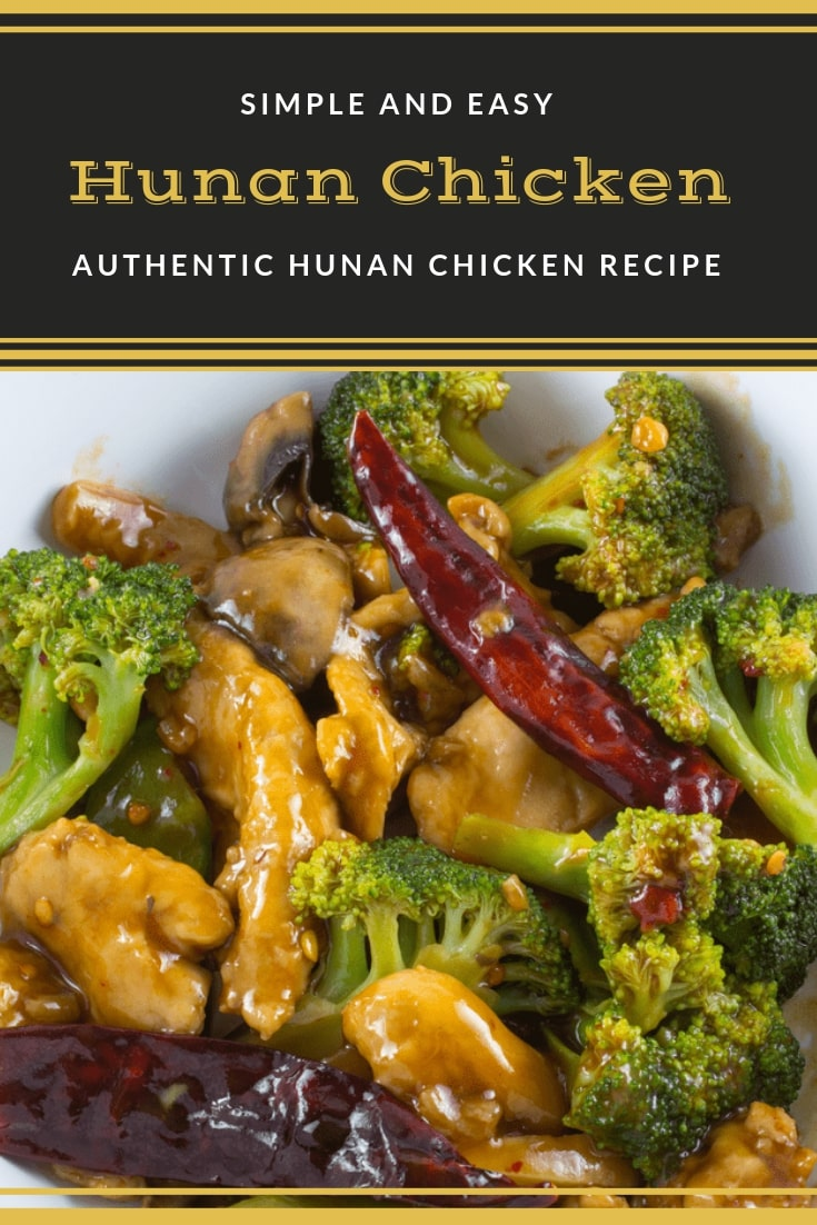 Easy Hunan Chicken