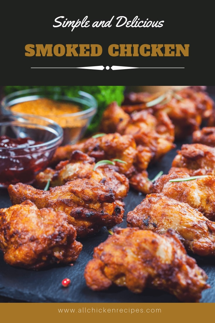 Easy Smoked Chicken Wings
