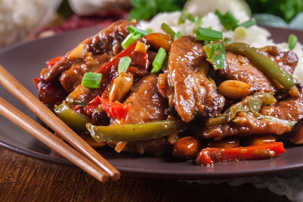 Easy Szechuan chiken