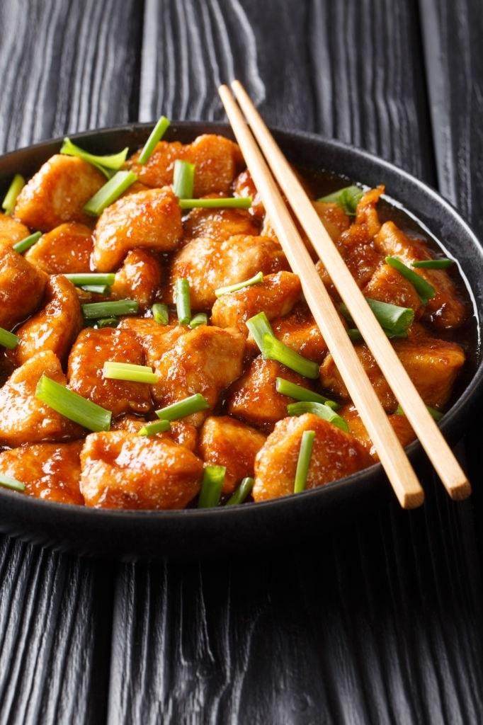 recipe for mongolian chicken