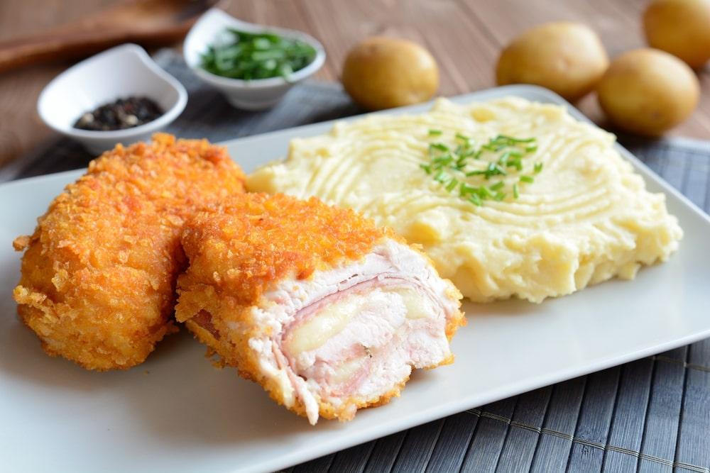 Chicken Cordon Bleu Fried