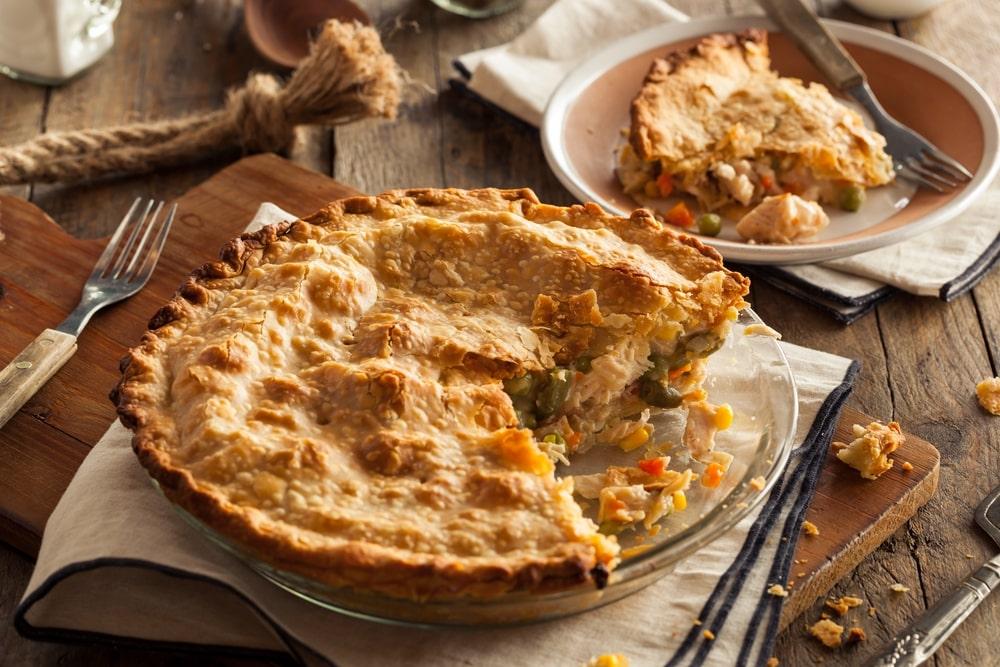 Chicken Pot Pie Easy Homemade Chicken Pot Pie Recipe
