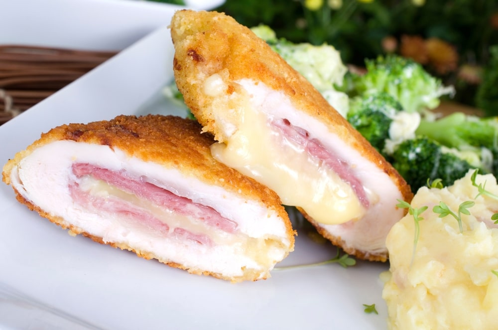 Healthy Chicken Cordon Bleu