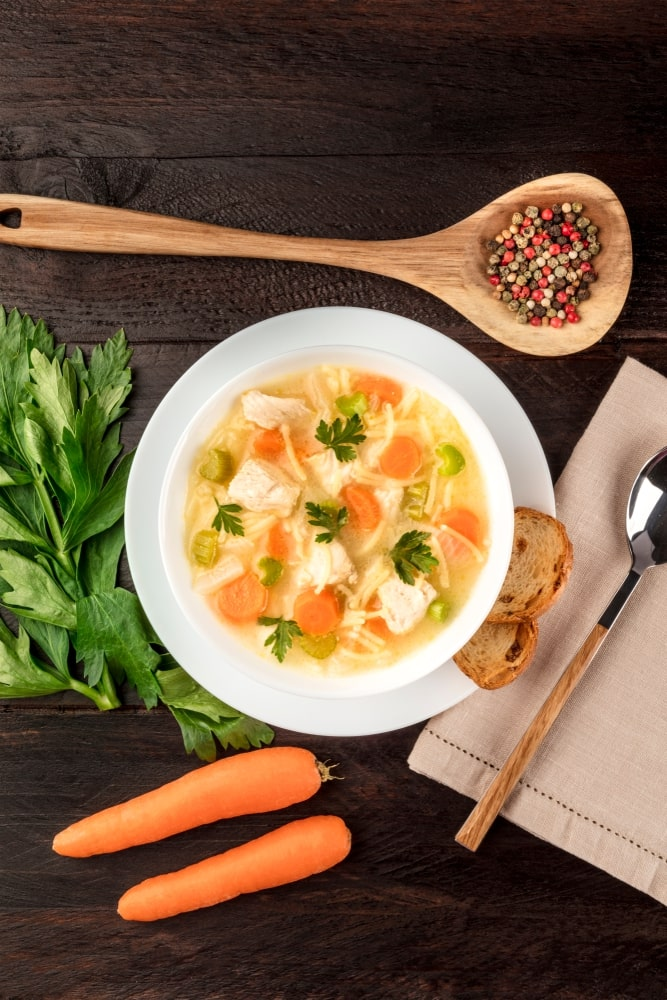 Healthy Chicken Noodle Soup