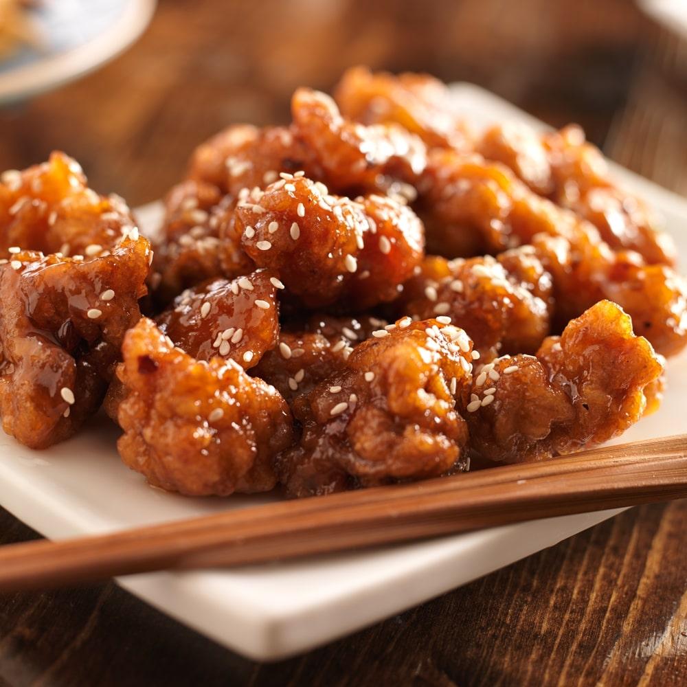 Healthy Sesame Chicken Recipe