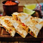 quesadillas chicken and cheese
