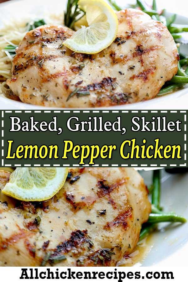 recipe for lemon pepper chicken