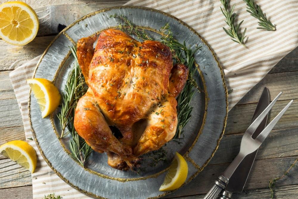 Rotisserie Chicken in Oven