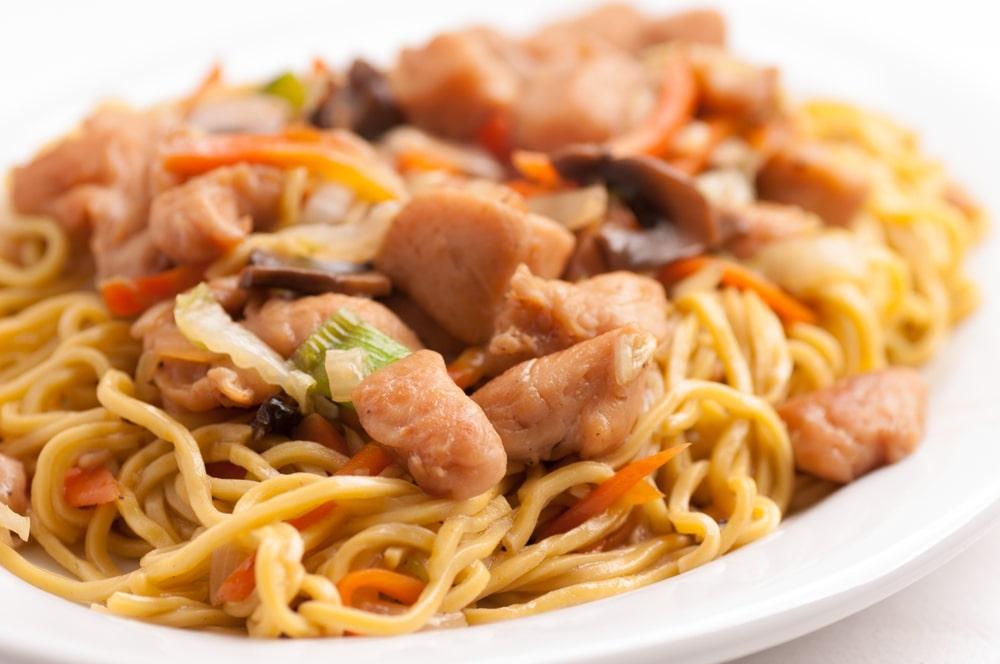 Healthy Chicken Chow Mein