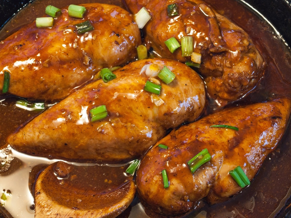 Soy Honey Garlic Chicken