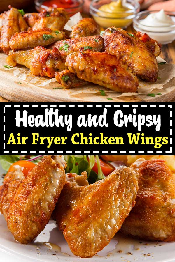 air fryer crispy chicken wings