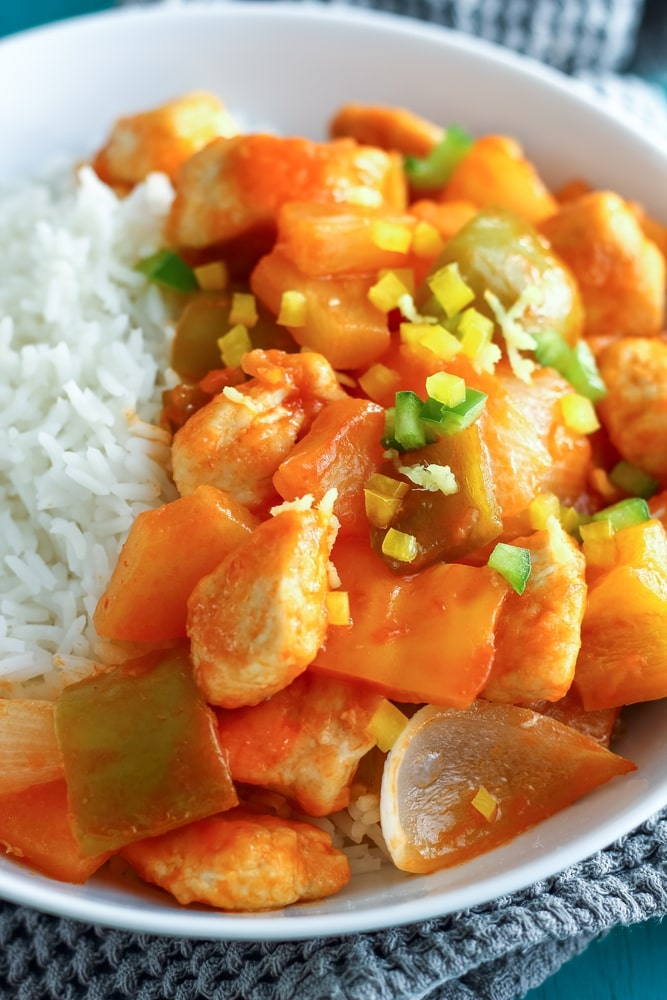 crockpot sweet and sour chicken with pineapple juice