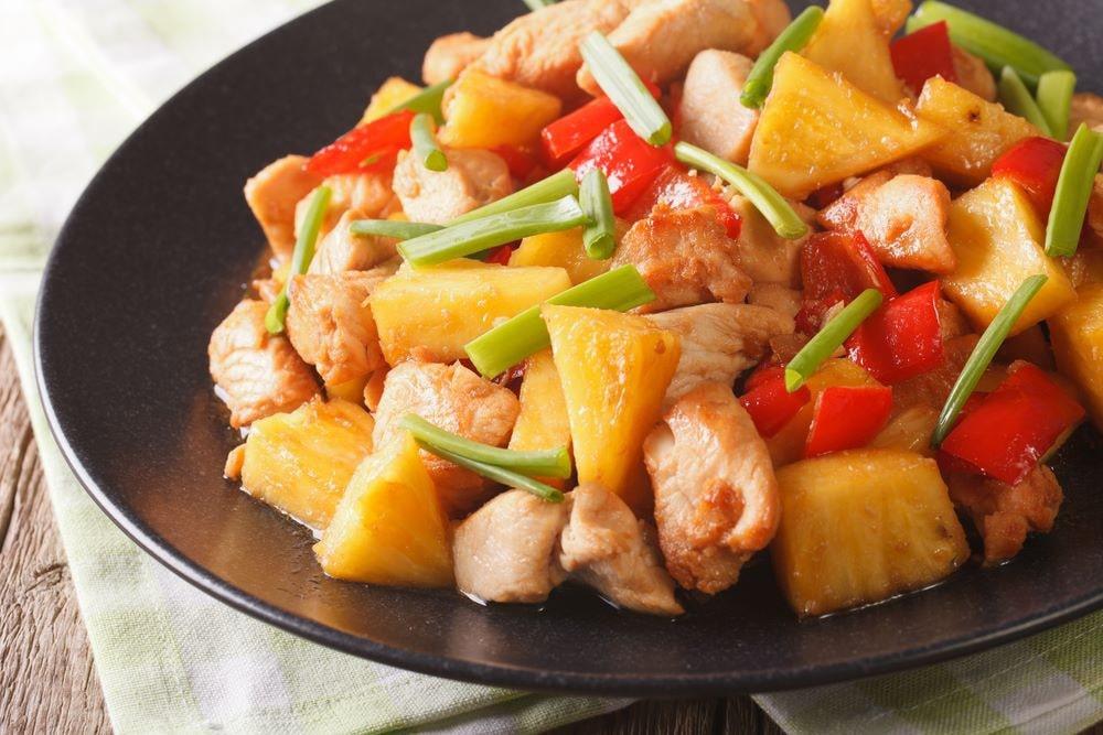 slow cooker chicken pineapple teriyaki