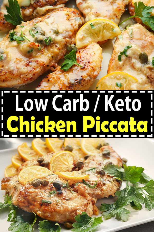 Low Carb Keto Chicken Piccata