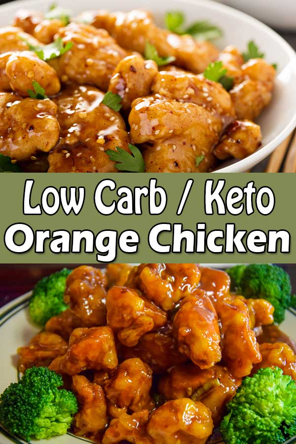 Low Carb Keto Orange Chicken