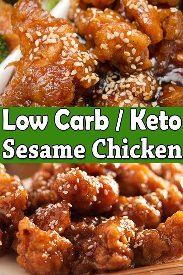 Low Carb Keto Sesame Chicken