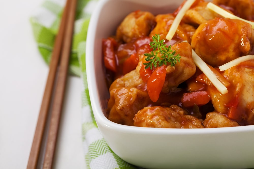 easy keto sweet and sour chicken