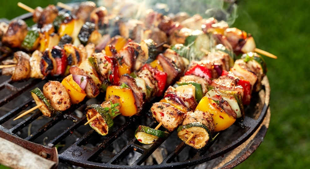 how to make chicken kabobs