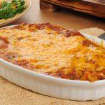 keto chicken enchiladas casserole