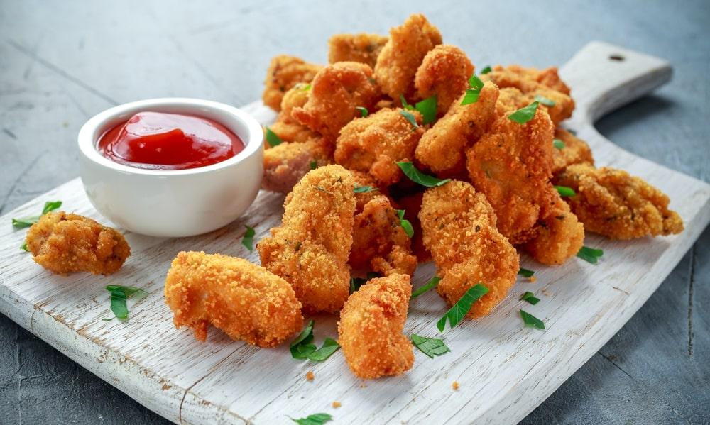 keto chicken nuggets pork rinds
