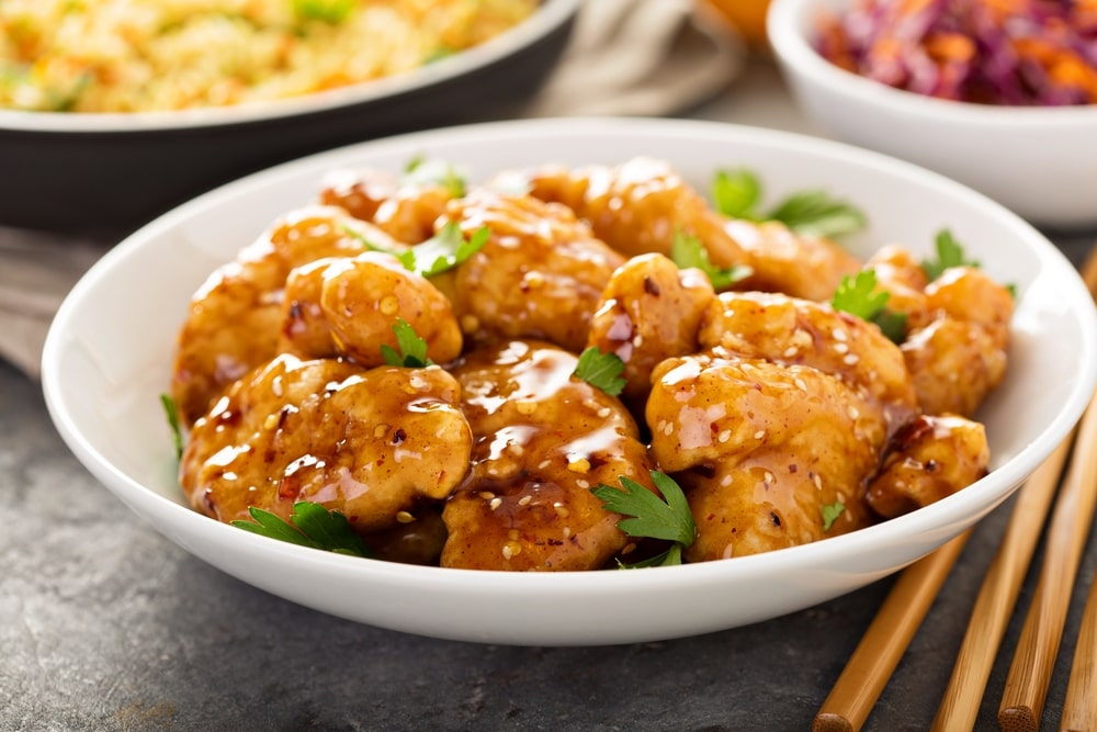 keto orange chicken