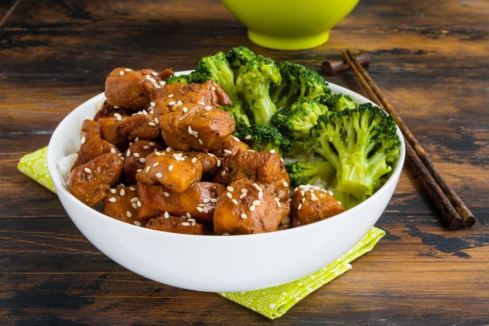 keto teriyaki chicken and broccoli