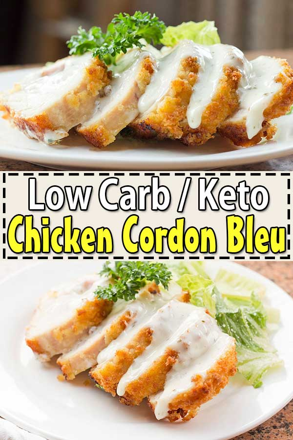 Low Carb Keto Chicken Cordon Bleu