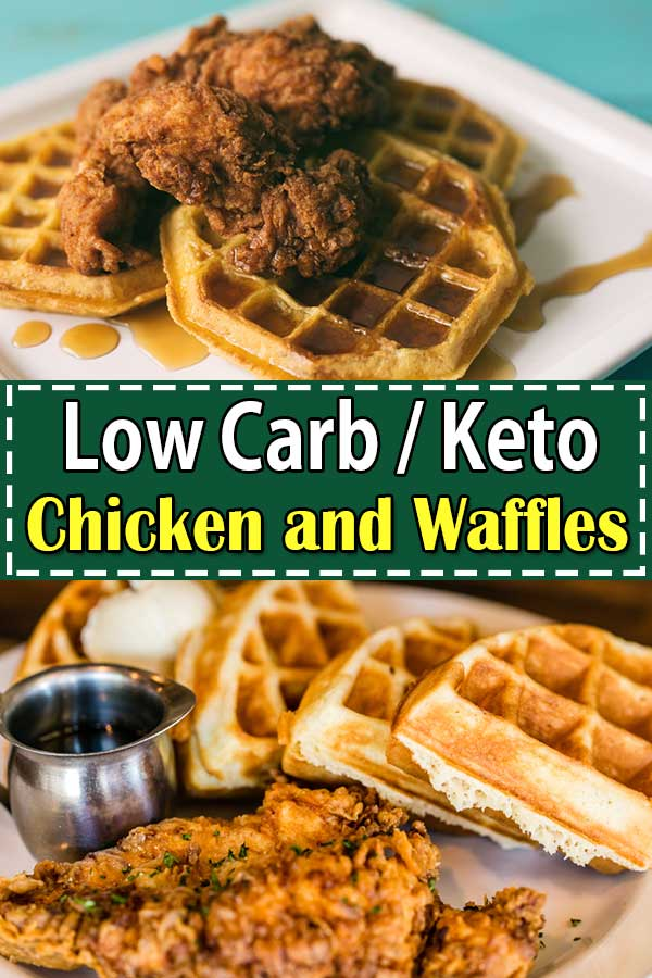 Low Carb Keto Chicken and Waffles