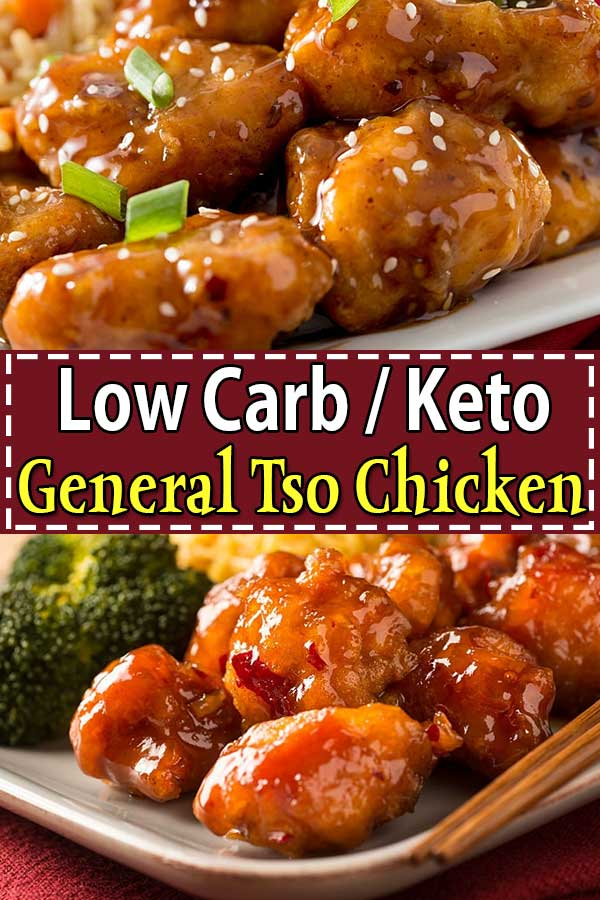 Low Carb Keto General Tso Chicken