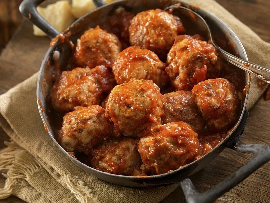 easy keto buffalo chicken meatballs