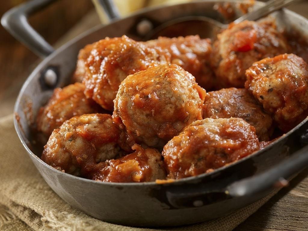 keto buffalo chicken meatballs crockpot
