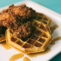 keto chicken and waffles
