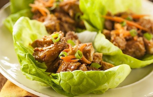 keto chicken lettuce wraps