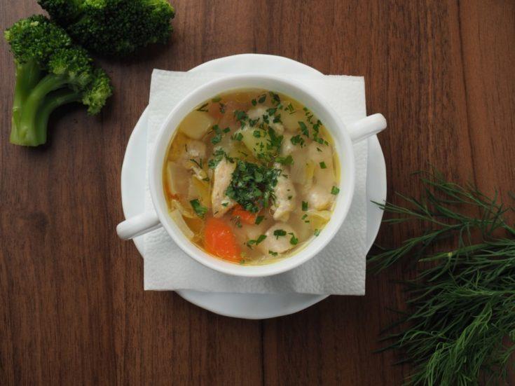 keto chicken soup instant pot