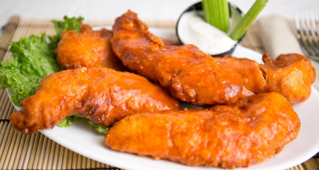 low carb buffalo chicken tenders