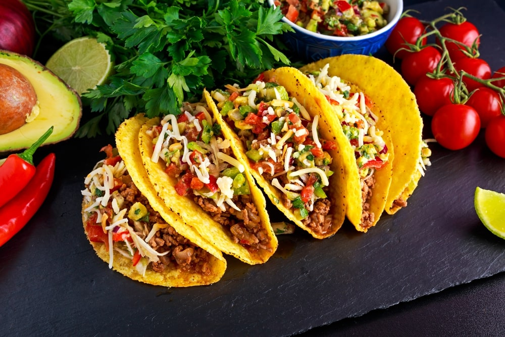 low carb chicken tacos