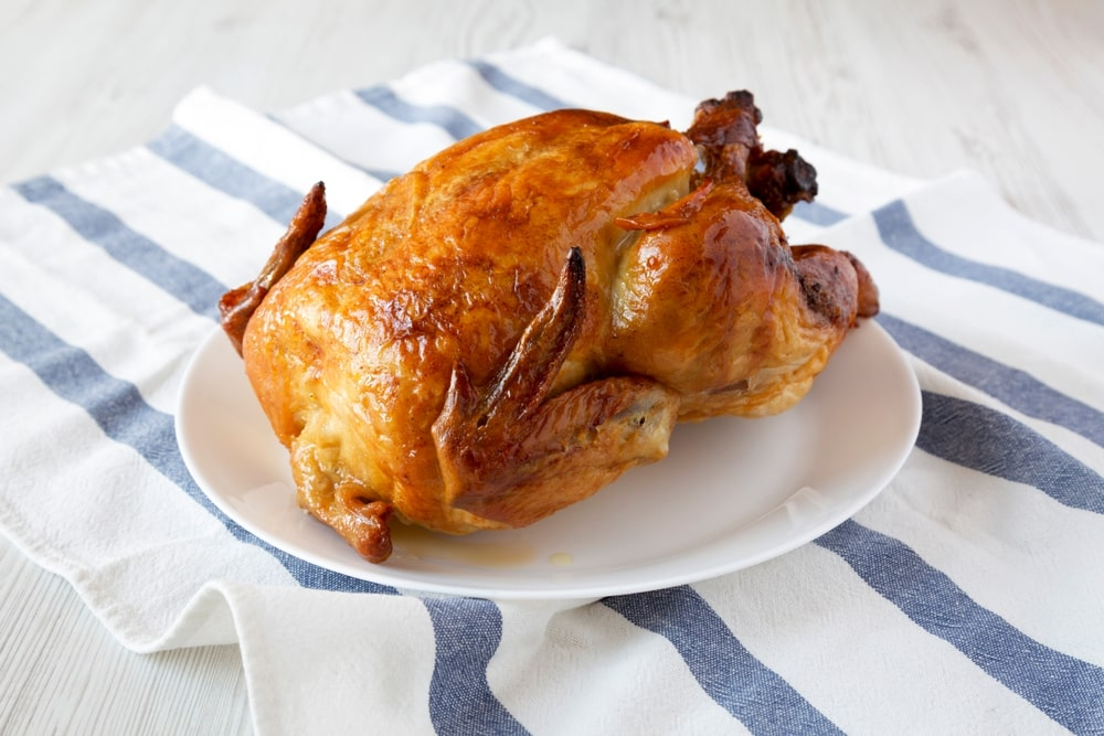low carb rotisserie chicken