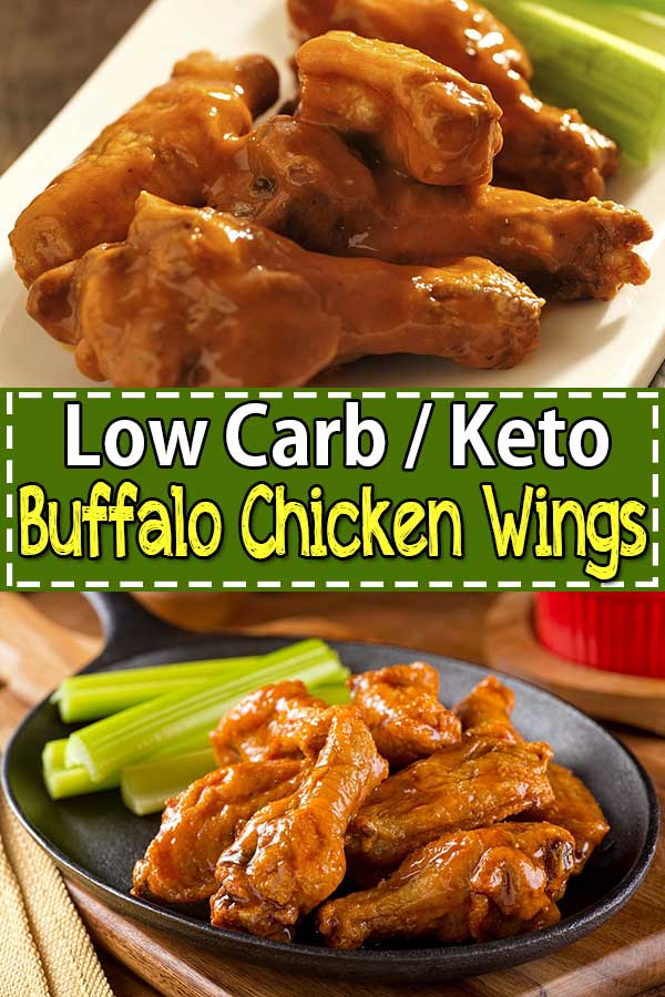 Low Carb Keto Buffalo Chicken Wings