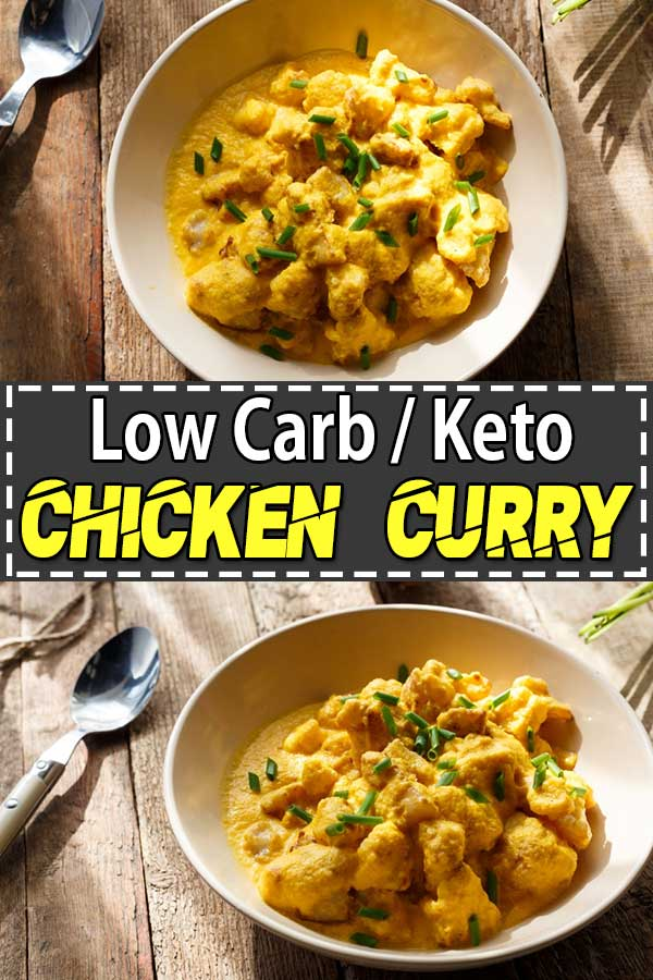 Low Carb Keto Curry Chicken