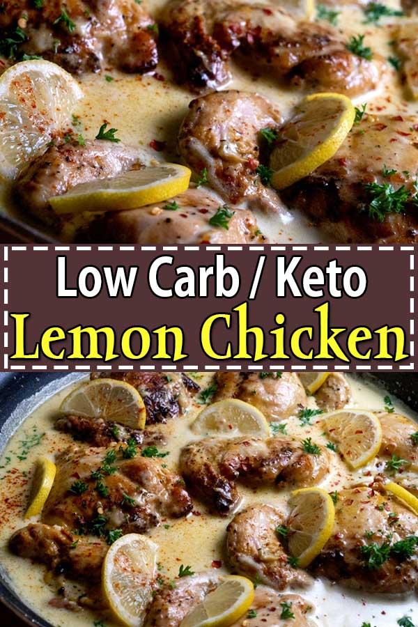 Low Carb Keto Lemon Chicken