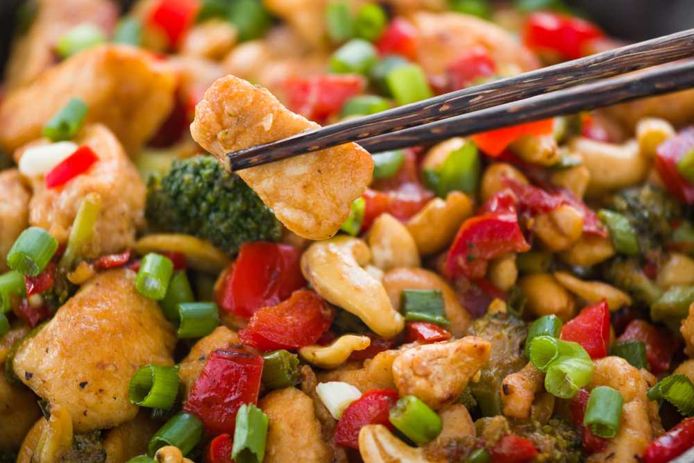 easy keto cashew chicken