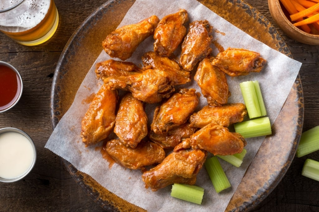 keto baked chicken wings