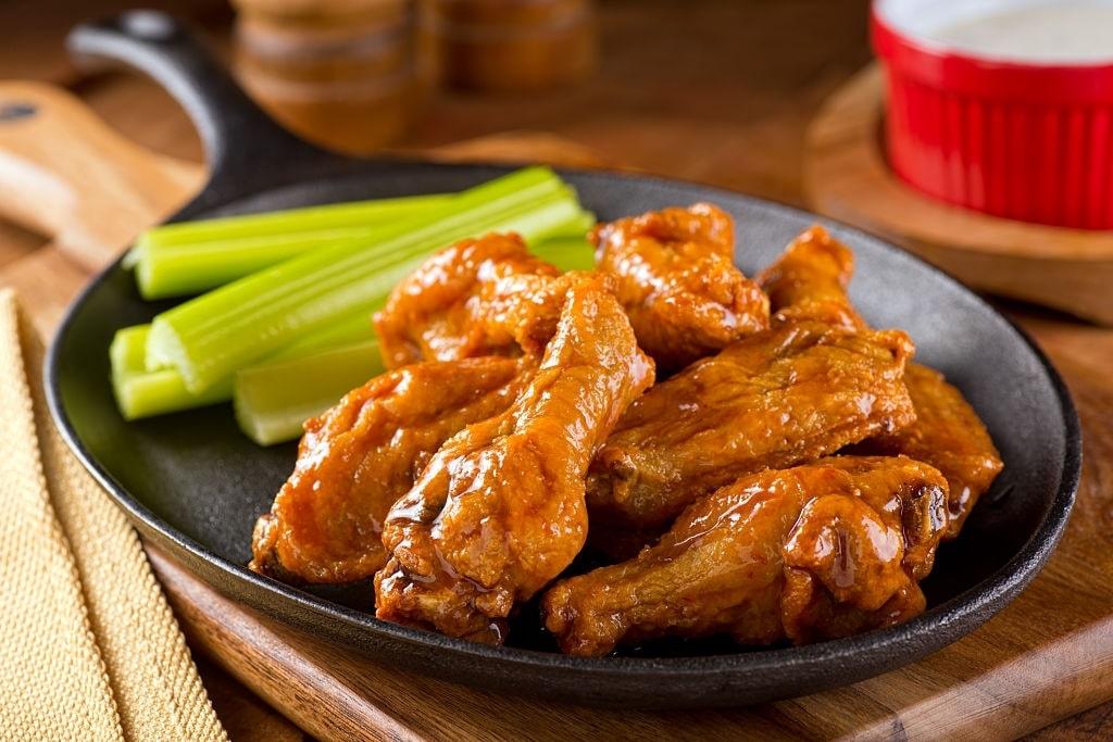 keto buffalo chicken wings in oven
