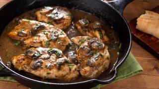 keto chicken marsala