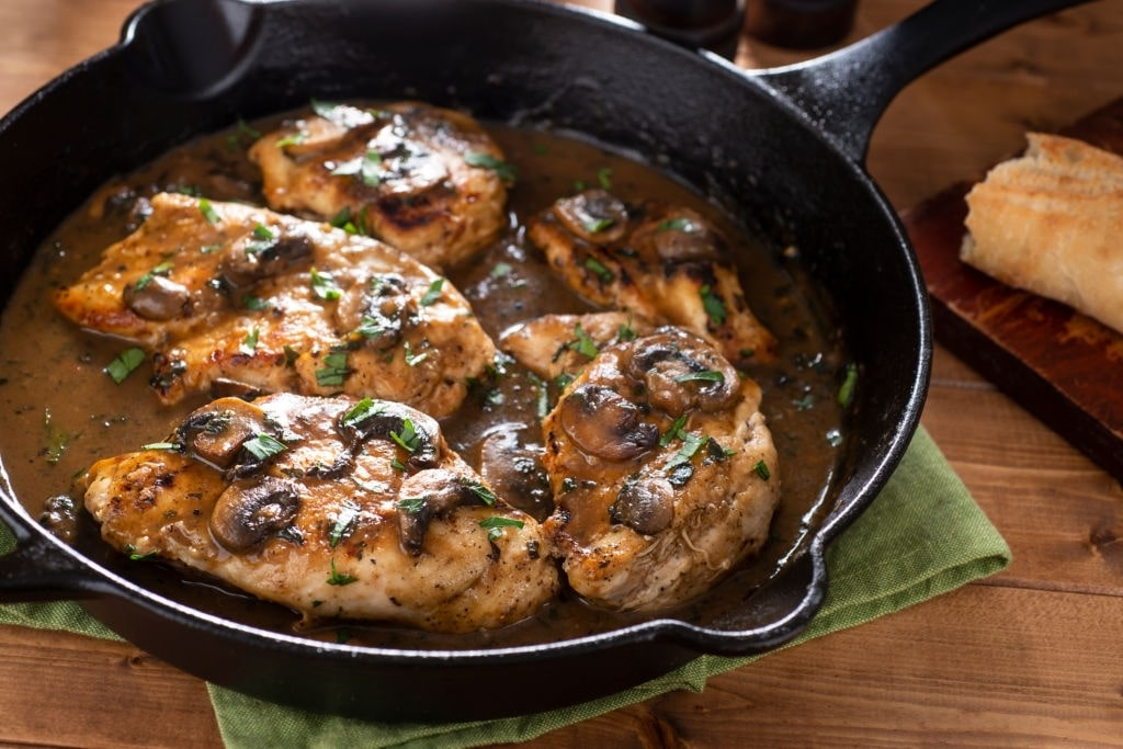 keto chicken marsala