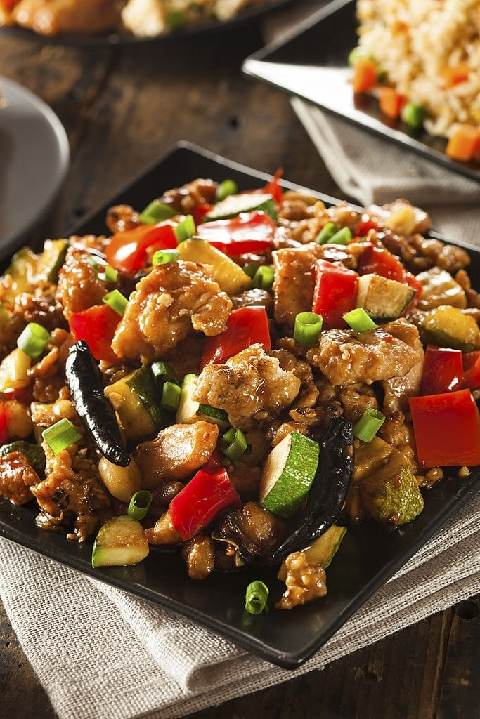 keto kung pao chicken slow cooker