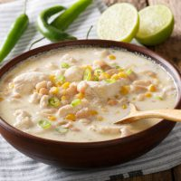 keto white chicken chili
