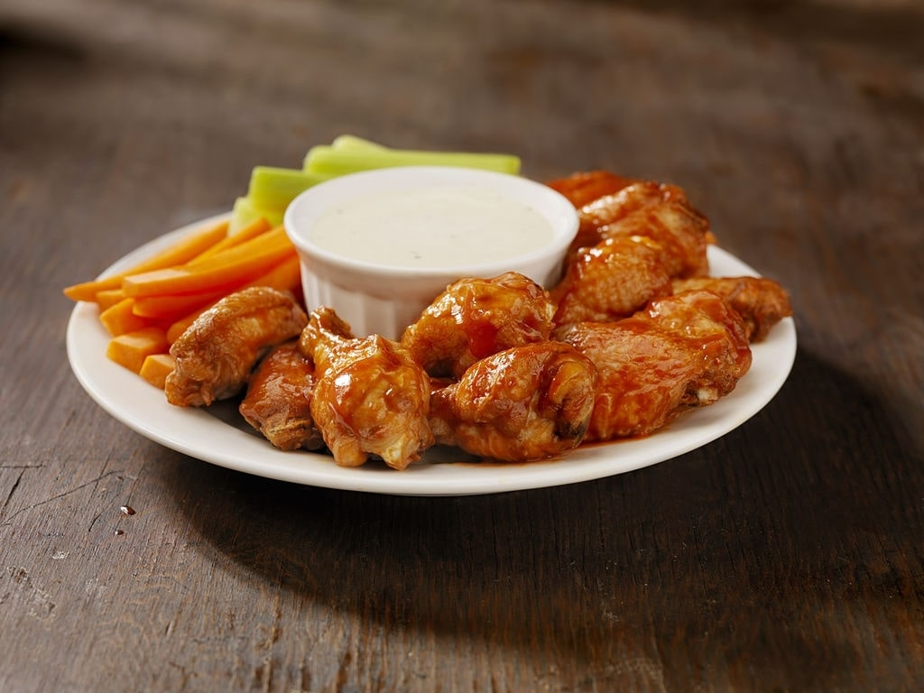 low carb buffalo wild wings