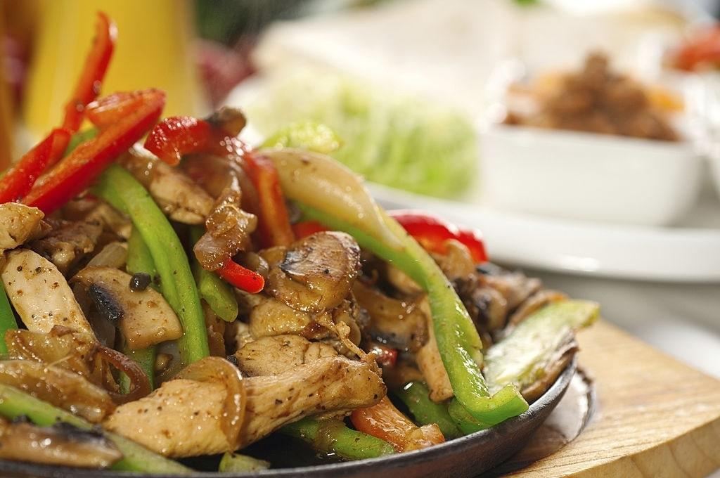 low carb chicken fajita bake