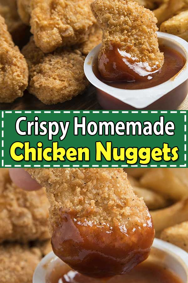 Cripsy Homemade Chicken Nuggets
